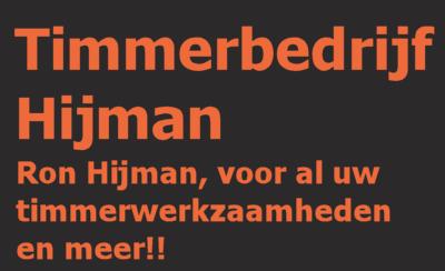 Timmerbedrijf Ron Hijman