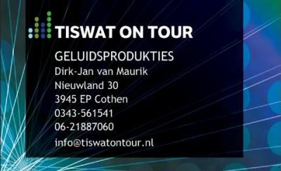 afbeelding sponsor Tis Wat on Tour