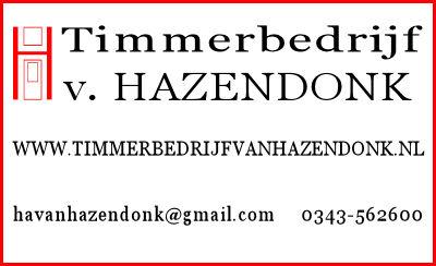 Timmerbedrijf Hazendonk