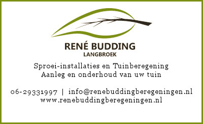 Rene Budding Tuinberegening