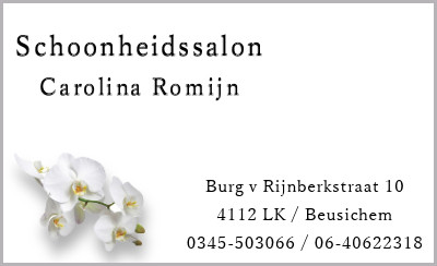 Schoonheidssalon Carolina Romijn